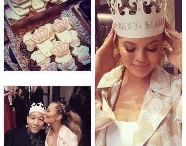 Chrissy Teigen et John Legend : Baby-shower de rêve pour leur future princesse