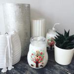 Recycler des biberons en bougies