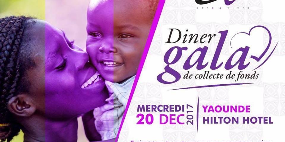 Dîner de Gala «Être et vivre» au Hilton Hôtel le 20 décembre 2017