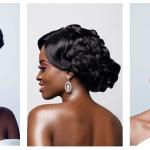 Spécial Fêtes : 2 idées de coiffures de mariage par Belle and Glam