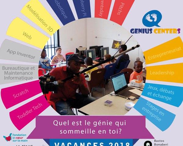 Vacances 2018 pour les enfants à Bastos, Bonaberi, Bonamoussadi, Bonapriso