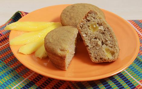 Petits gâteaux de mil à la mangue