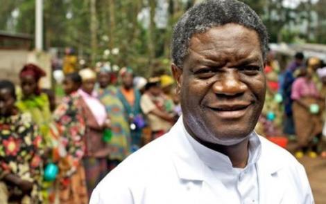 Le gynécologue Denis Mukwege, Prix Nobel de la Paix 2018