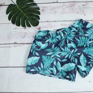 short de bain garçon hawai
