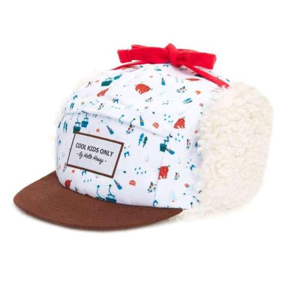 casquette moumoute snow de la marque hello hossy