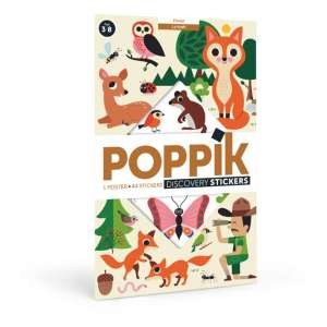 Poster stickers Forêt – Poppik