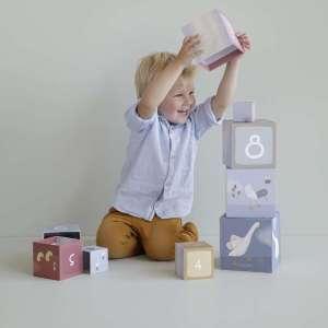 Cubes à empiler Petite Oie – Little Dutch