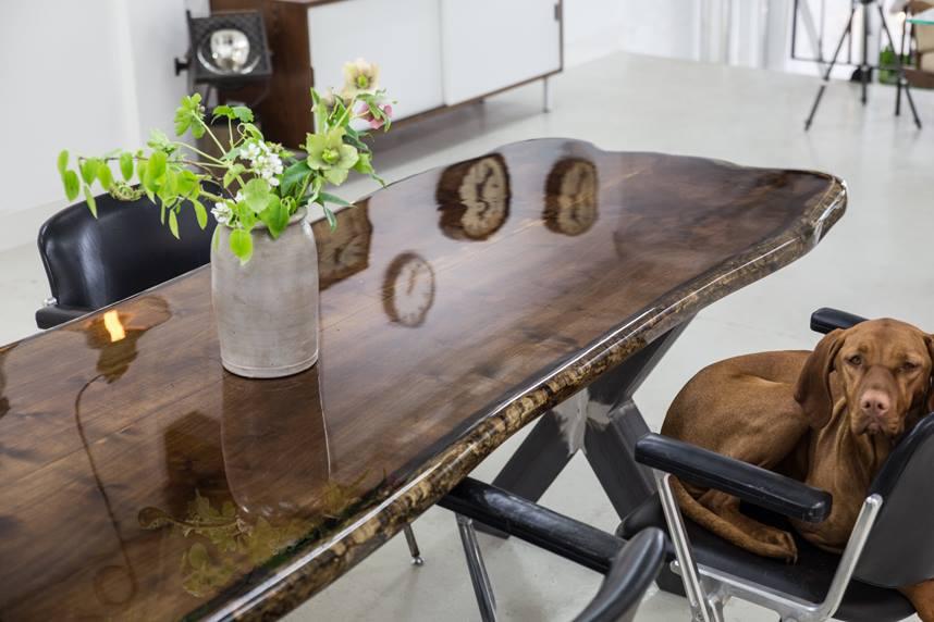 Designbureau VANOUDS maakt waanzinnig mooie tafels
