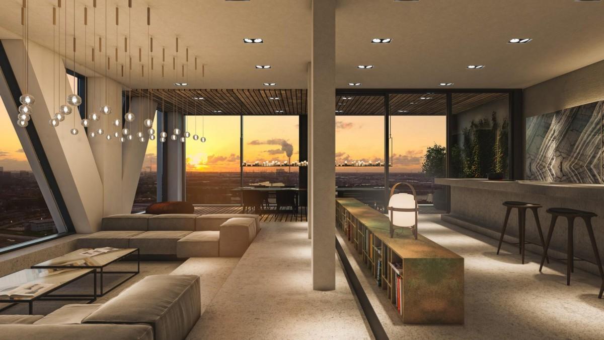Binnenkijken bij het duurste penthouse van Nederland 16mln