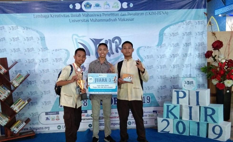 Man2 Makassar Juara Debat UNISMUH 2019