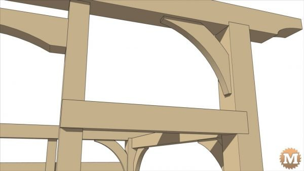 Timber Frame Sawhorse Plans