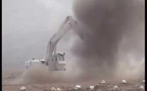 日本が作る対人地雷除去機が人の役に立ちすぎている