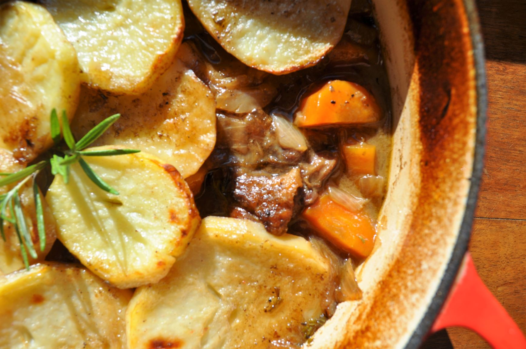 Irish stew with goat
