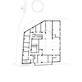 plan etaj 3 _ Hotel Floreasca