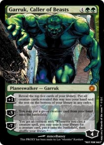 Garruk Caller of Beasts