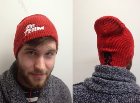Click here to get your Eh Team toque from Face to Face Games.com