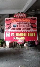 Bunga Papan Manado Soft Opening