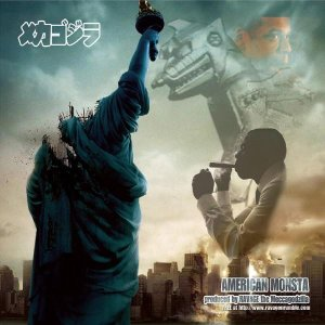 AMERICAN MONSTA THE JAY-Z AMERICAN GANGSTER REMIX ALBUM BY RAVAGE THE MECCAGODZILLA ON CD