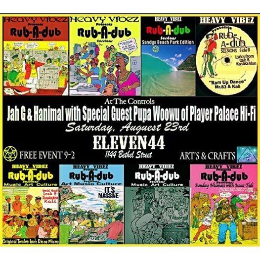 DJ oMMM x Heavy Vibez x MANAFEST VISION MEDIA LLC. iNiTee at Eleven44 Hawaii