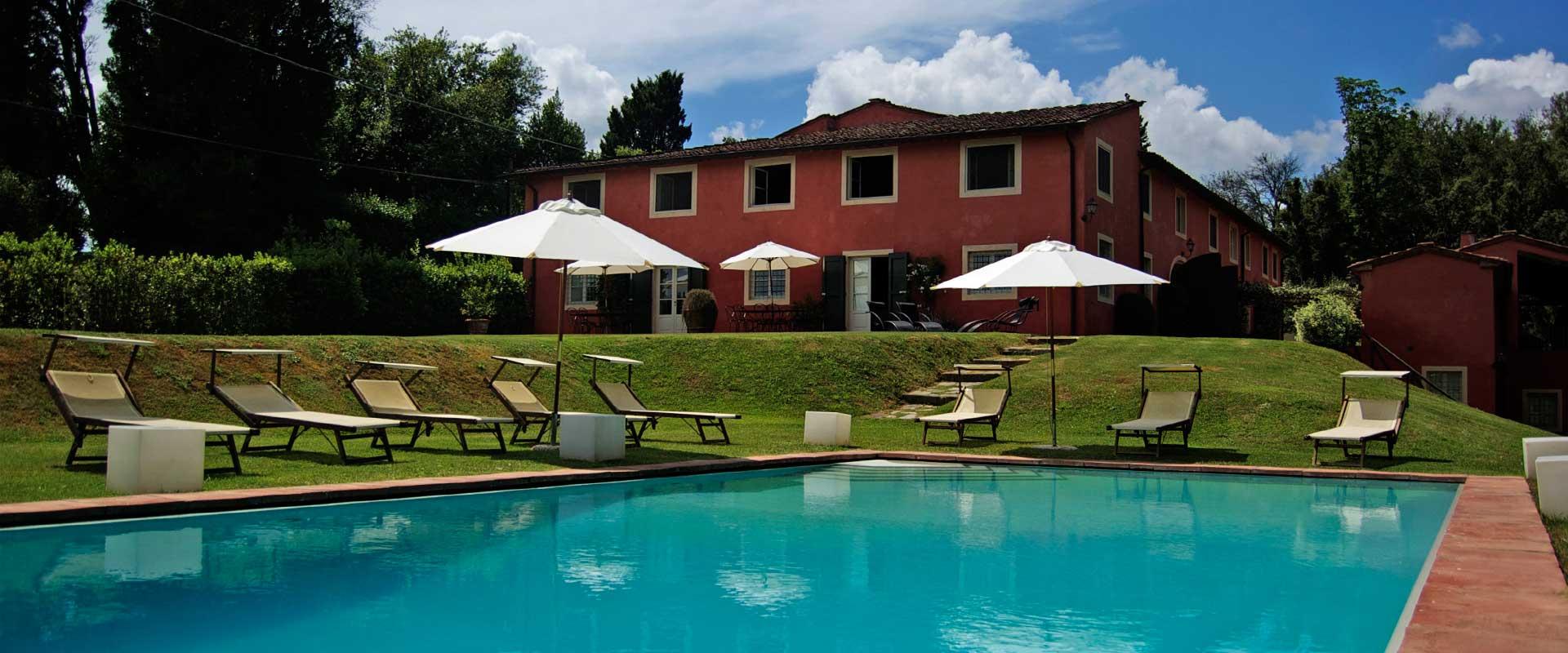 Casa Rossa  villa Casa Rossa Tuscany  Isle Blue