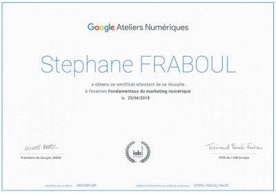 certification google digital active