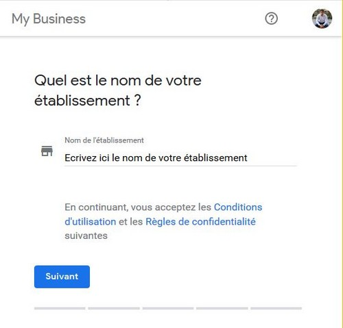 creation fiche google my business