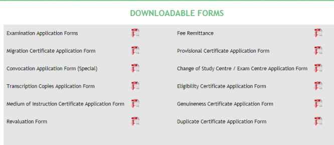 Download Madurai Kamaraj University Application Form