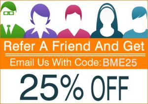 Refer a Friend Discount Code - BME25