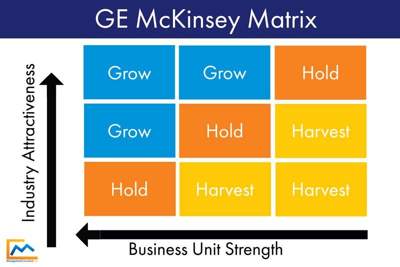 GE McKinsey Matrix - The 2-Minute Academy