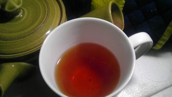 北限の村上茶 富士美園20130403 雪国紅茶2012 -茶液