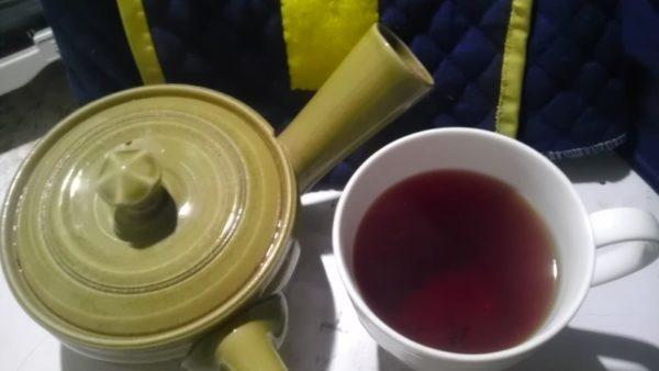 西製茶所20130908 出雲の国のべにふうき紅茶2013 -茶液