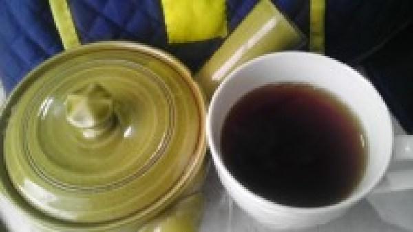 国産紅茶20131004 南山城紅茶おくみどり2012SF -茶液