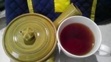 国産紅茶20131008おぼろ紅茶緑3