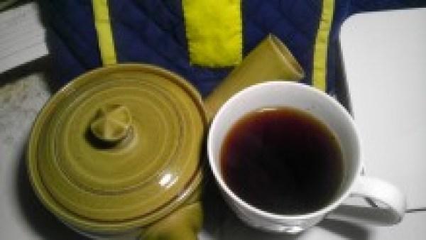 国産紅茶20131021 南山城紅茶やぶきた2013 -茶液