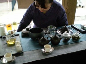 阿里山のお茶