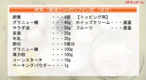 紅茶のシフォンケーキ2