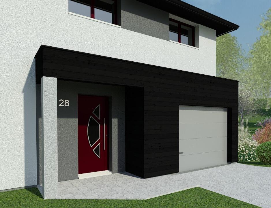 Plan Maison Individuelle 4 Chambres 28 Habitat Concept