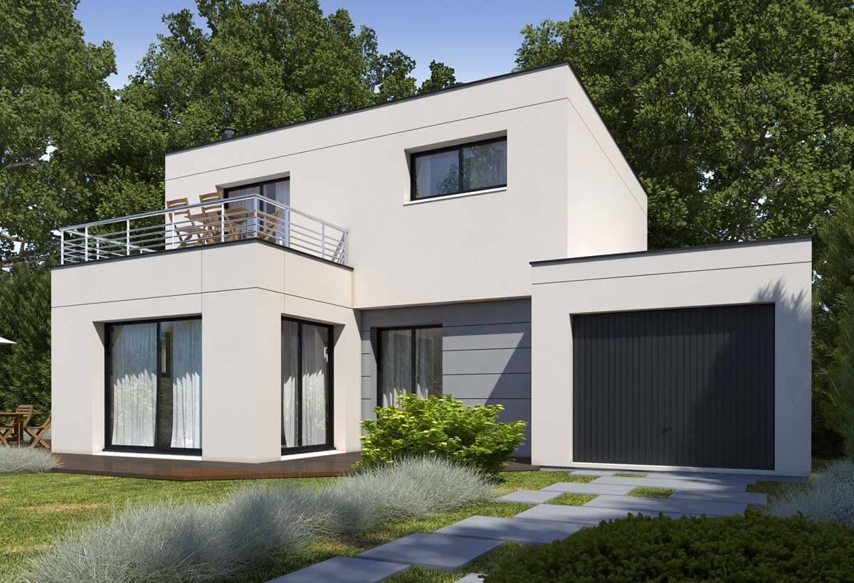 Plan maison individuelle 4 chambres 82  Habitat Concept