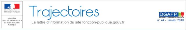 Revue DGAFP Trajectoires