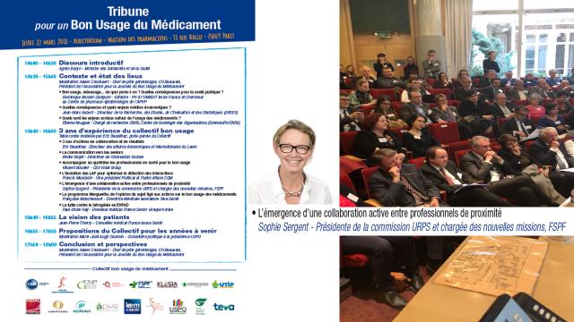 Intervention Sophie Sergent Ducherf 22 03 2018 Maison des Pharmaciens