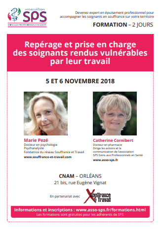 Intervention Marie Pezé et Catherine CORNIBERT Nov 2018 Orléans