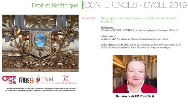 Flyer Conférence 15 Mai 2019