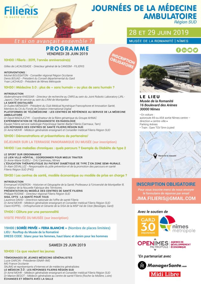 Flyer Partenariat FILIERIS & ManagerSante 06 2019