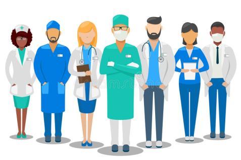 quipe-médicale-illustration-de-vecteur-de-personnel-hospitalier-80137571