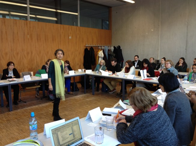 Ushma Chauhan Jacobsen explored the significant role language plays in the work of intercultural exchange through the notion of metrolingualism, which is being applied to a study on Aarhus 2017 as the European Capital of Culture