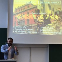 Javier J. Hernández Acosta, Universidad del Sagrado Corazón, Puerto Rico, discussed the differences between traditional arts management education and cultural agency as it is known in Latin America.