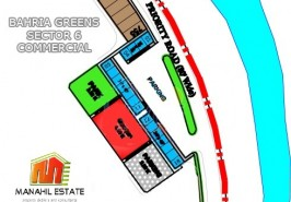 Bahria Greens Sector 6 Commercials Map