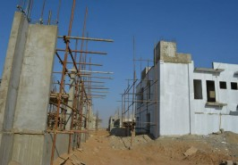 Bahria Homes Construction Work Going on at Good Pace