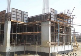 Bahria Homes Karachi Development Work in Progress