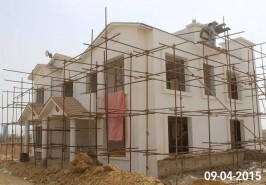 Bahria Town Karachi 5 Marla Home Nearly Completed